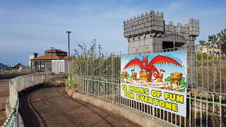 The Welsh Dragon Adventure Golf course in Rhyl