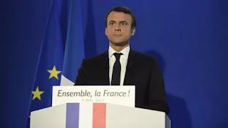 """El presidente electo de Francia se dirigió """"a todos los ciudadanos sin importar su elección"""" tras derrotar a la derechista Marine Le Pen en la segunda vuelta y aseguró que """"una nueva página de la historia empieza hoy"""". """"Quiero que sea una página de esperanza y confianza"""", señaló"""