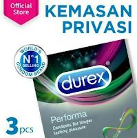 Durex Performa Kondom Isi 3s Alat Kontrasepsi