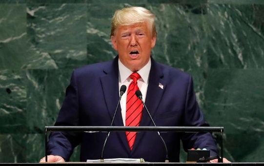 Trump a migrantes: No van a entrar mientras sea presidente