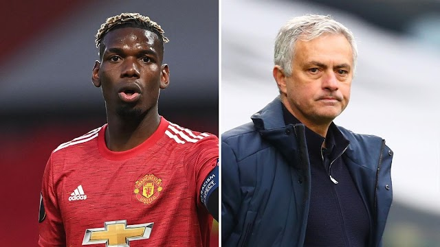 Pogba accuses former boss Mourinho of 'going against players'