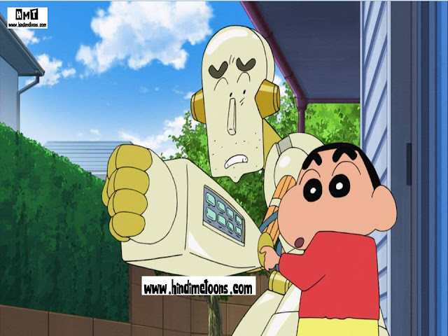 Download Shinchan: Robot Dad HINDI Full Movie [HD]