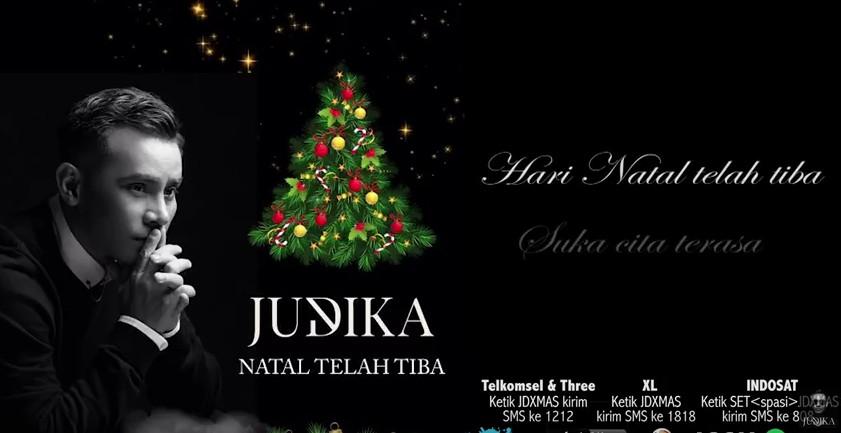 Lirik Lagu Natal Telah Tiba - Judika