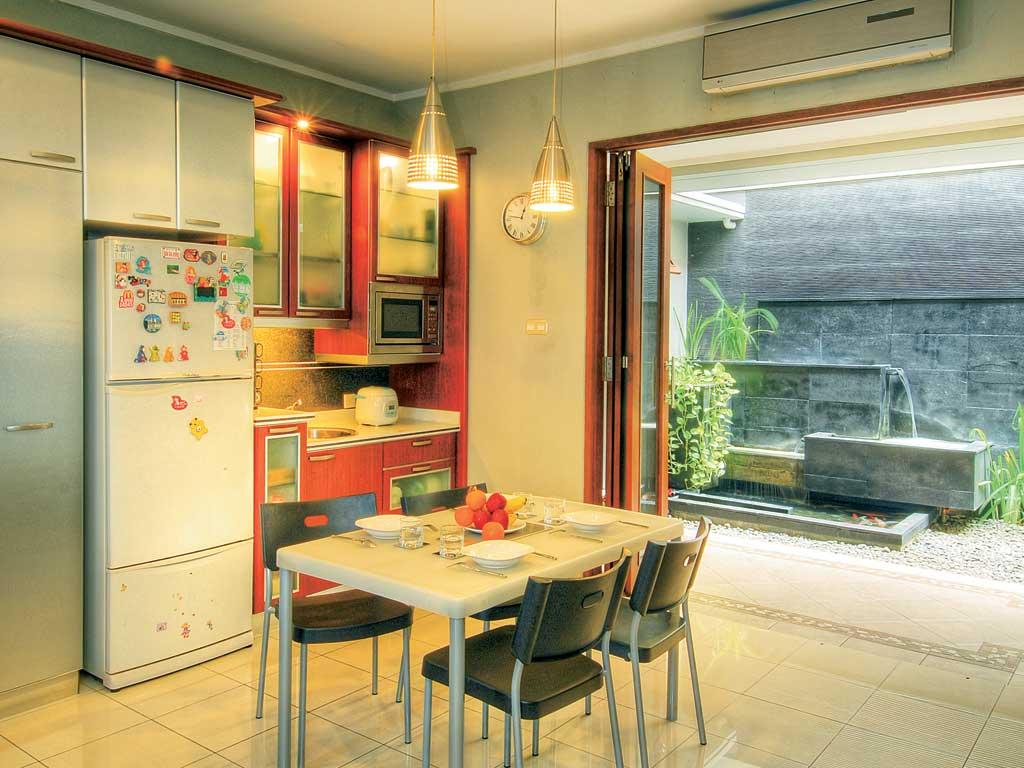 dapur dan ruang makan terbuka 13