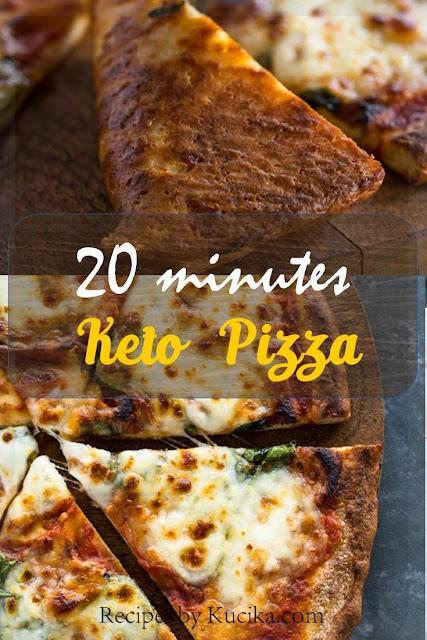How to make 20 Minute Keto Pizza