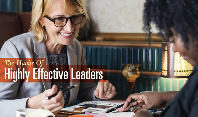 The Habits Of Highly Effective Leaders #infographic