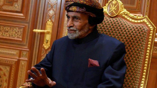 Sultan Qaboos of Oman dies aged 79