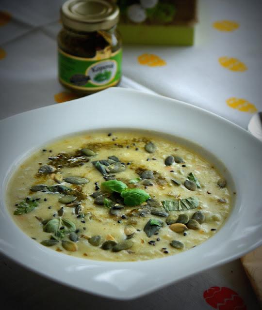 SYS,dania babci Zosi,Proeco Polska,koperek,pestki dyni,zupa koperkowa,bazylia,oliwa z oliwek