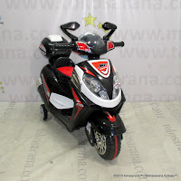 Motor Mainan Aki Junior YLQ2288 Vario Black
