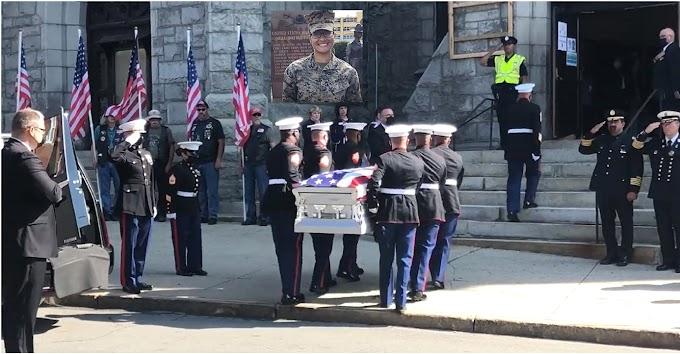 VIDEO: Sargento Johanny Rosario será velada este martes en funeral masivo en estadio de Veteranos en  Lawrence