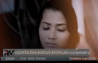 Lirik Lagu Pof Minang Thomas Arya Feat Elsa Pitaloka - Cinta Tak Harus Memiliki