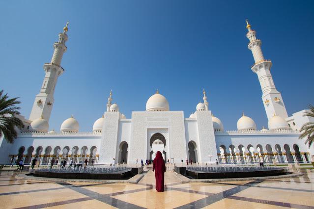 Moschea dello sceicco Zayed-Abu Dhabi
