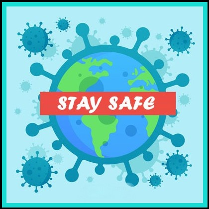 virus outbreak stay home save lives