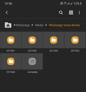 Copy existing nomedia file