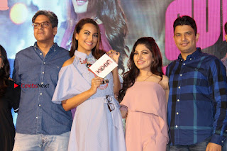 Actress Sonakshi Sinha at the Song Launch of Film Noor  0067.JPG