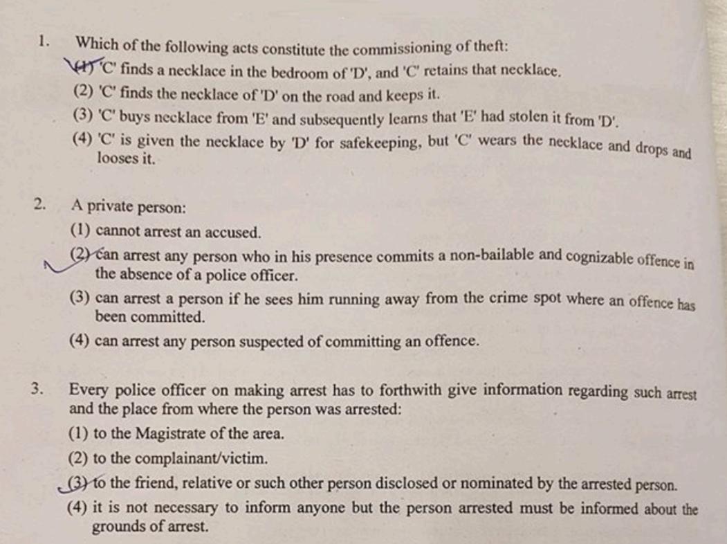 delhi judicial services preliminary exam question paper 2019 pdf