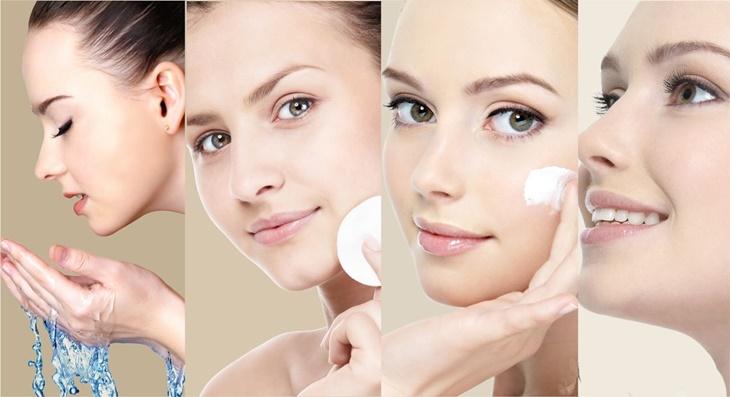 Limpeza da pele antes da maquiagem