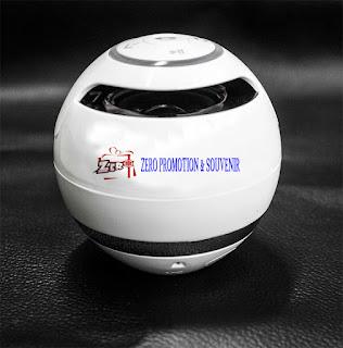 Souvenir speaker Bluetooth bulat BTSPK01 – Radio / MP Player / Headset