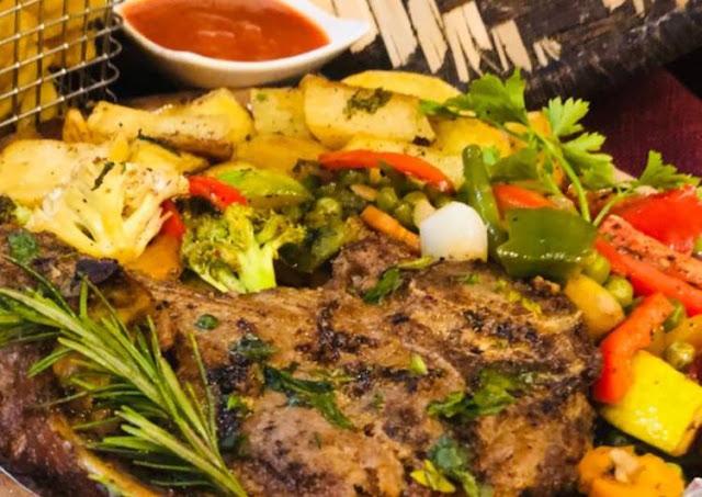 Whosayna's Baked Tbone Steak