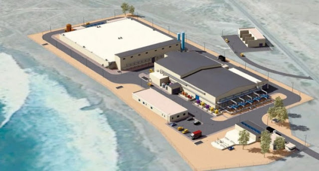 Morocco will have the largest sea desalination plant in the world.