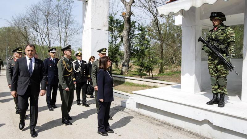 Επίσκεψη της Προέδρου της Δημοκρατίας Κατερίνας Σακελλαροπούλου στις Καστανιές Έβρου