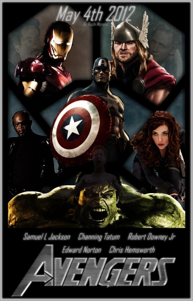 Avengers Movie Poster 2012