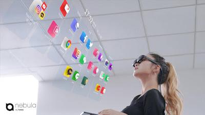 """Óculos Nreal Light AR lançados em pacote com Galaxy Note 20 """"5G"""""""