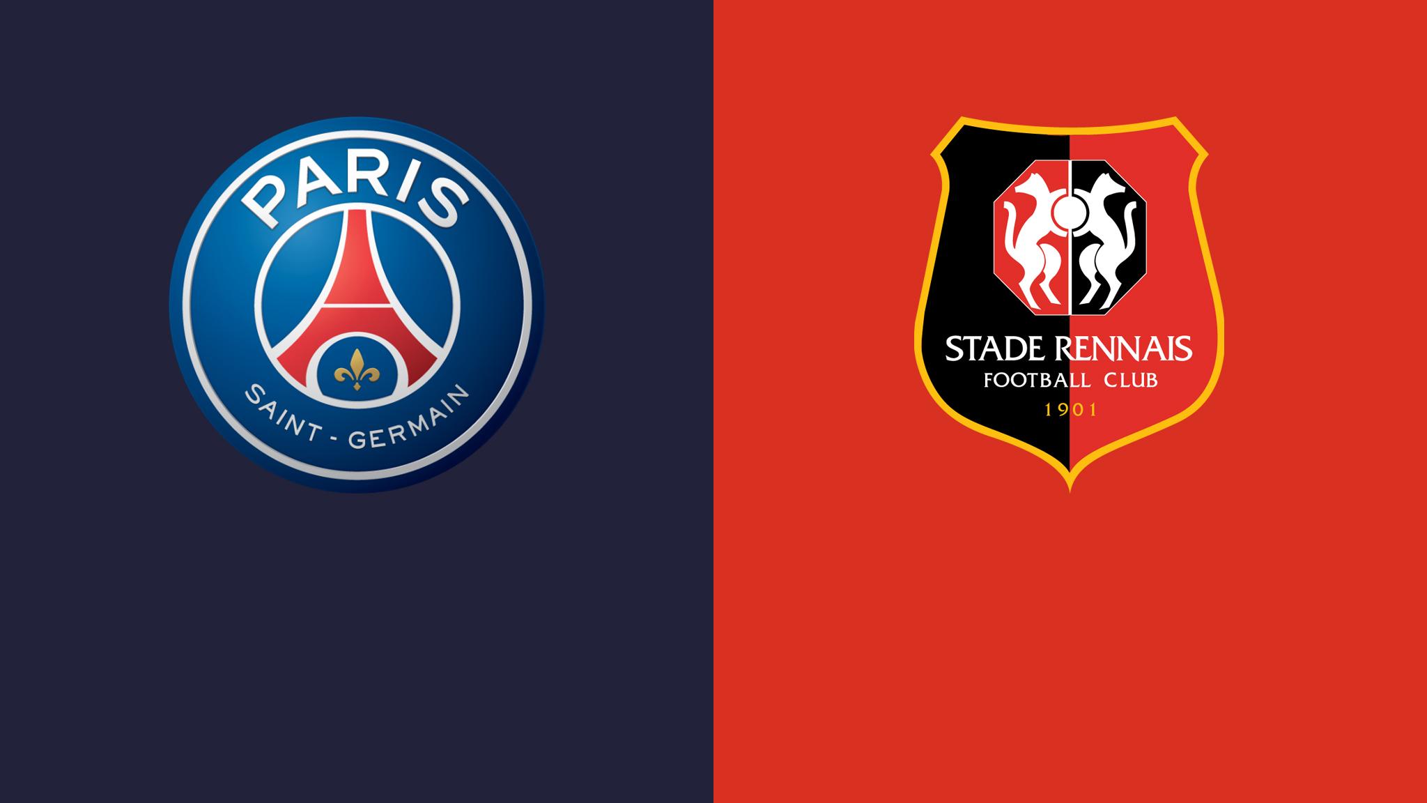 PSG vs Rennes France - Ligue 1