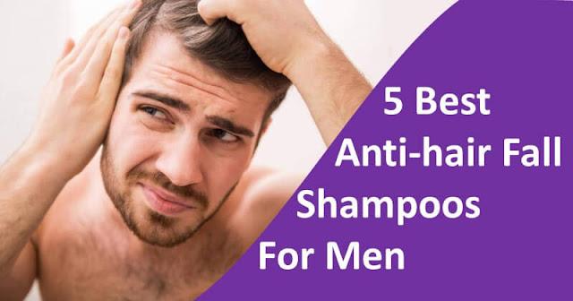 best anti-hair fall shampoos for Men
