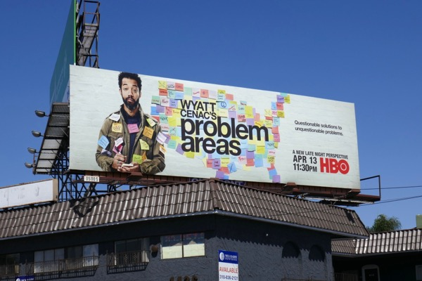 Wyatt Cenacs Problem Areas billboard