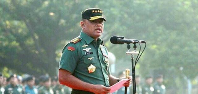 Penolakan Panglima TNI karena Amerika Tidak Senang Sosok Gatot yang Ultranasionalis dan dekat Islam
