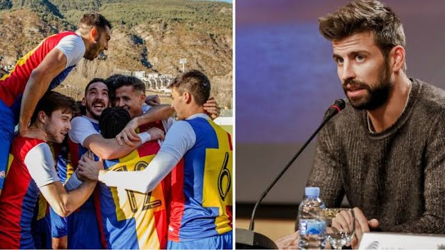 Pique's Team Pay £411,000 for Promotion to Spanish 3rd Tier