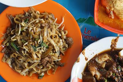 Kwe tiaw sapi warung Ci Meng