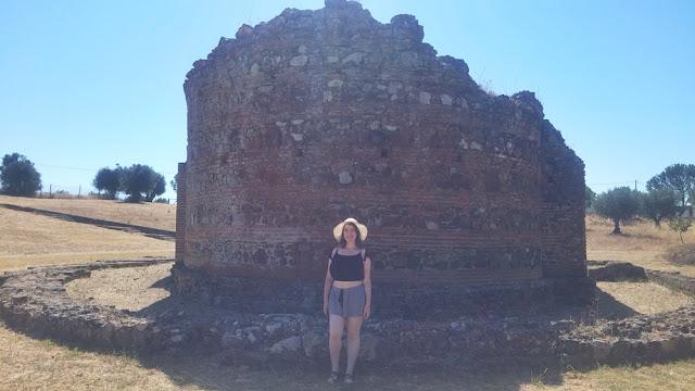 Ruínas de São Cucufate, Vidigueira: Templo Romano
