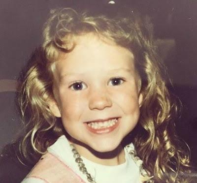 Tegan Moss's childhood picture