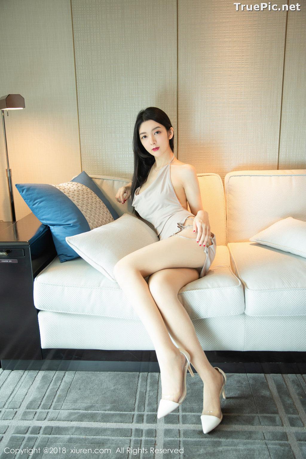 Image XIUREN No.1141 - Chinese Model - Xiao Reba (Angela小热巴) - Sexy Dress Tonight - TruePic.net - Picture-19