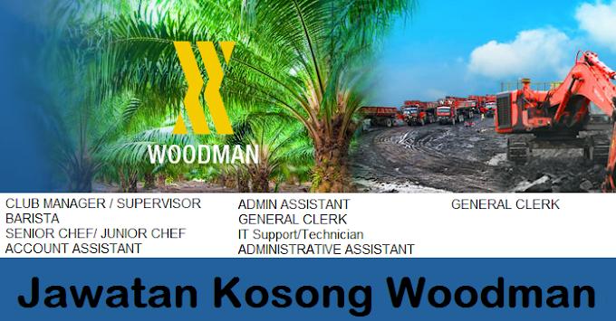 9 Jawatan Kosong Woodman