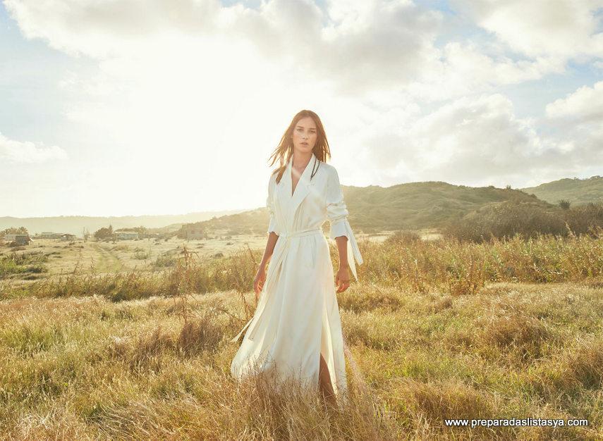 vestido blanco zara 2016
