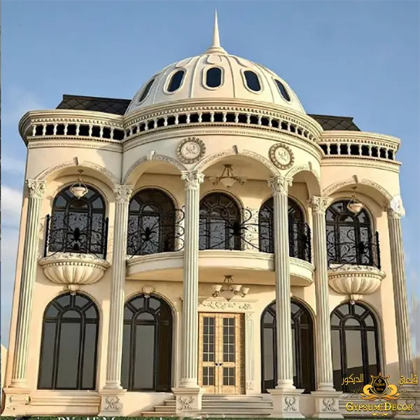 واجهات قصر مودرن 2021