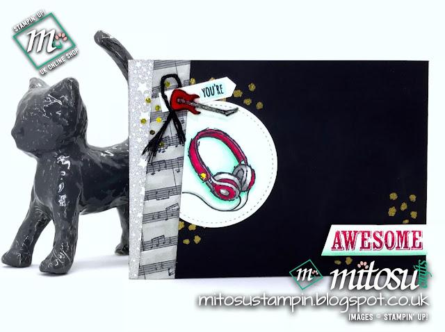 Stampin' Up! Epic Celebrations Card Idea Order SU from Mitosu Crafts UK Online Shop