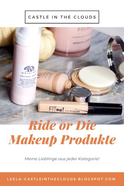 Ride or Die Makeup Produkte Pinterest