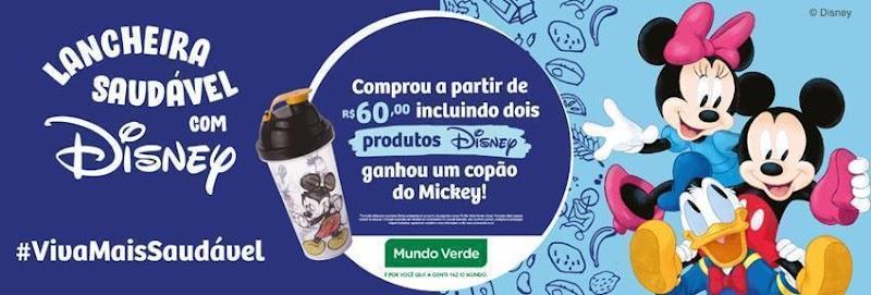 Mundo Verde lança campanha Lancheira Saudável com Disney