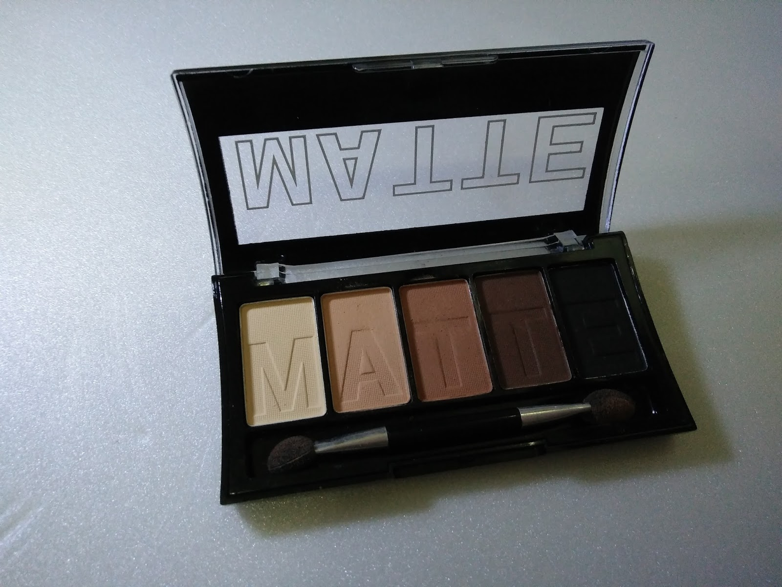 LA COLORS Matte Eyeshadow Review and Swatches on Brown Tweed ...