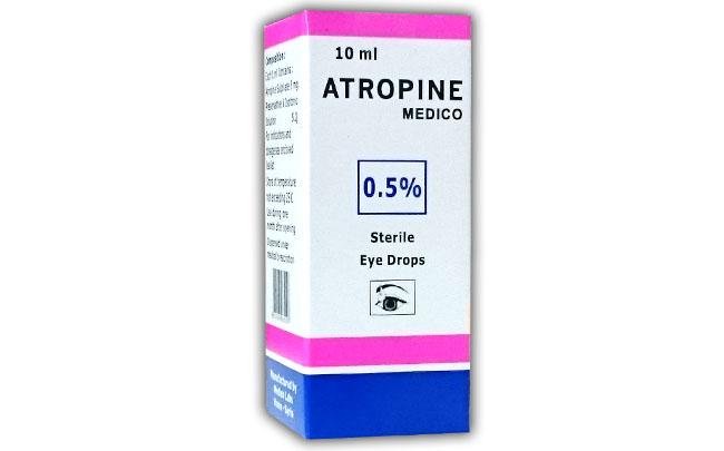 سعر ودواعى إستعمال قطرة اتروبين Atropine للعين