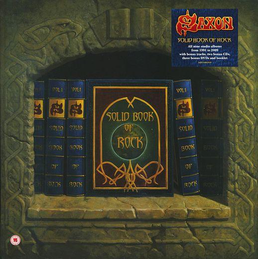 SAXON - Solid Book Of Rock; Disc 9 Lionheart +1 [Rough Mix] (2017) full
