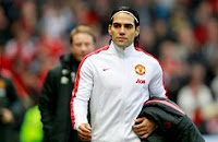 Manchester United's Radamel Falcao has been  a sub for much of the season