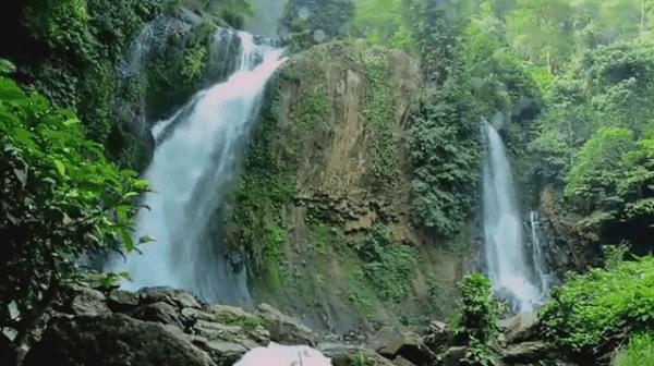 100+ Gambar Air Terjun Ada Pelangi Paling Bagus