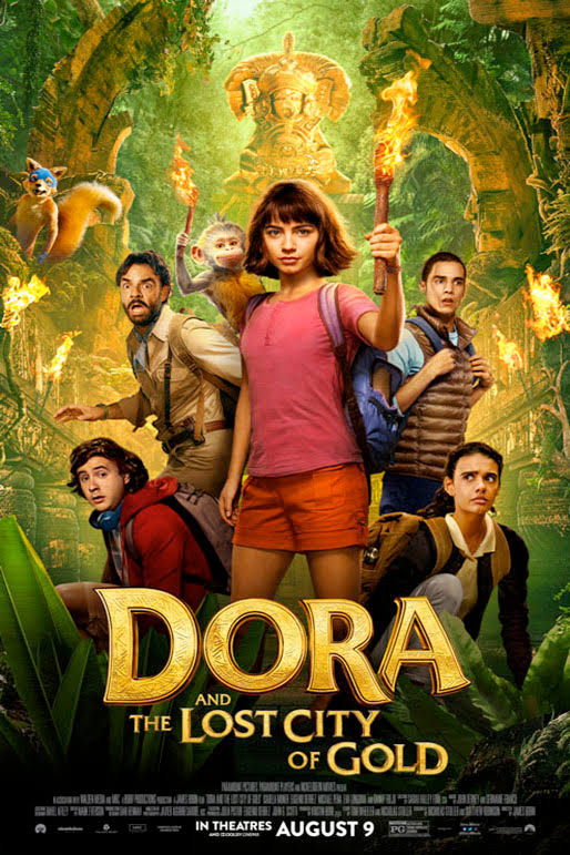 Dora and the Lost City of Gold 2019 480p 300MB
