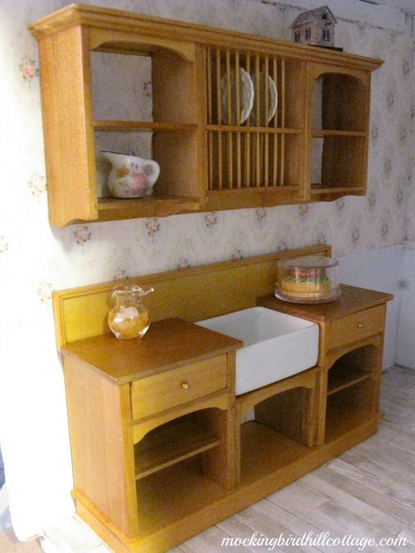 Diy Dollhouse Kitchen Cabinets
