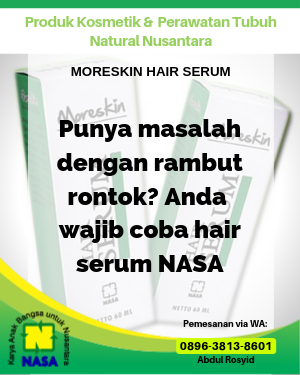 Moreskin Hair Serum Nasa 60 ml